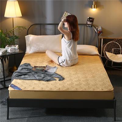 2020新款全棉床笠 120cmx200cm 驼色