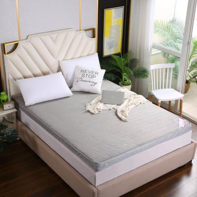 2020新款亲肤立体包边软床垫(10公分) 1.2m 灰色