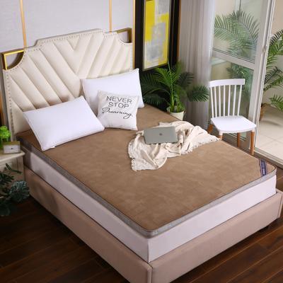 2020新款亲肤立体包边软床垫(10公分) 1.2m 咖啡