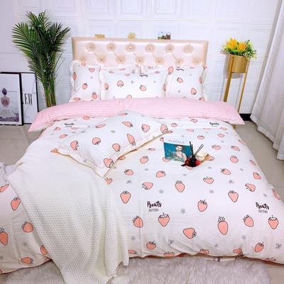 2019新品全棉四件套 1.8m(6英尺)床 蜜糖香氛