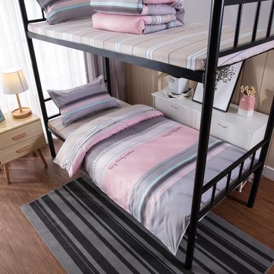 2019新款学生宿舍床品全棉三件套 0.9m-1.2m-1.35m床单三件套 挪威印象