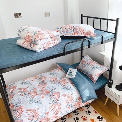 2019新款学生宿舍床品全棉三件套 0.9m-1.2m-1.35m床单三件套 欧式时尚