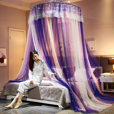 2020新款蚊帐 圆顶 通用款 梦幻空间 紫