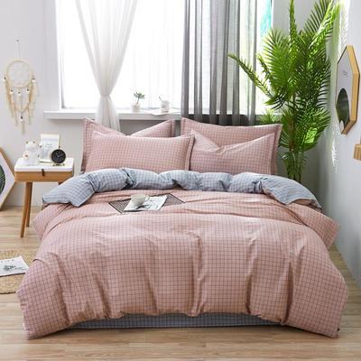 2019新款全棉12868四件套 2.2m(7英尺)床单款 格调