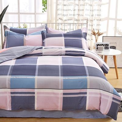 2019新款全棉12868四件套 2.2m(7英尺)床单款 卡曼斯