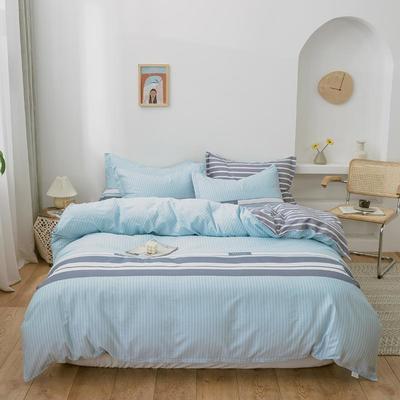 2020新款全棉12868多规格印花四件套(4) 1.2m(4英尺)床 风尚之约