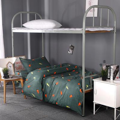 2019新款ins小清新三件套学生三件套宿舍三件套单人床三件套 1.2m(4英尺)床 艺术星尚