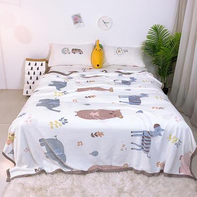 2019新款雪花绒毛毯小被子毛毯懒人毯午睡空调休闲床单盖毯夏季 200cmx230cm 瓯海风情