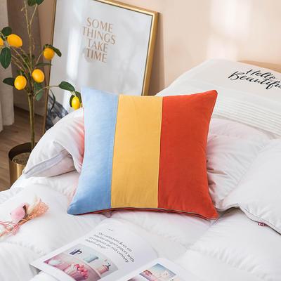2019新款-麂皮绒抱枕(款式一) 45*45套子 风靡世界
