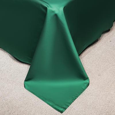 单床单&单床笠 245*250cm床单 墨绿