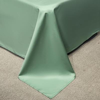 单床单&单床笠 245*250cm床单 松石绿