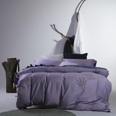 2019新款60长绒棉简约北欧肌理纹四件套 1.8m(6英尺)床 迪玛利