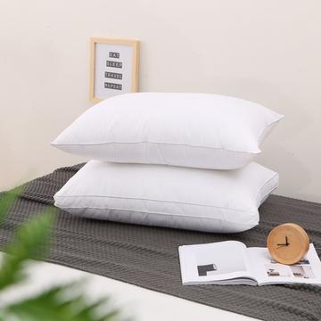 2019新款全棉立体羽丝绒枕 枕头枕芯 全棉枕 促销枕 礼品枕低枕中枕高枕