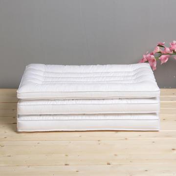 2019新款舒眠安睡枕 枕头枕芯 低枕矮枕平枕 薄枕 学生枕 护颈枕 抗菌羽丝绒