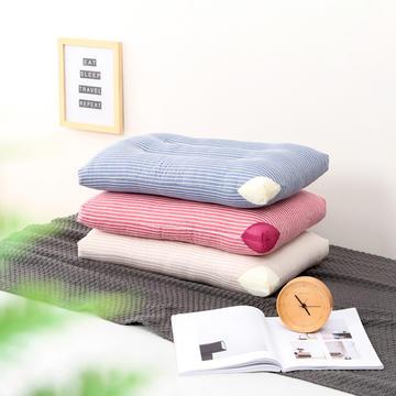 2019新款水洗儿童枕 枕头枕芯 全棉可水洗条纹三色宝宝幼儿园单人用