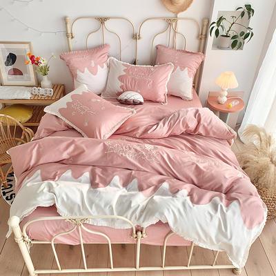 2020新款60S長絨棉四件套 1.5m(5英尺)床 金菠蘿