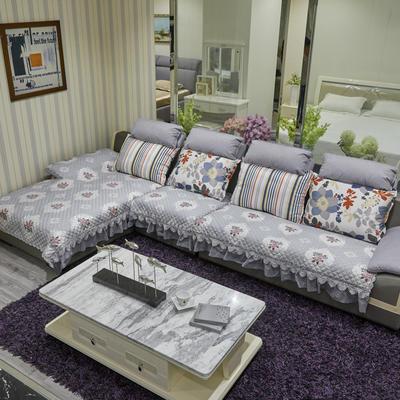 2019新款-厚高精密-大布边沙发垫 90*90 国色天香-灰色