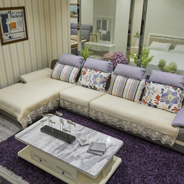 2019新款-荷兰绒-网纱大边沙发垫
