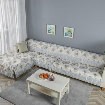 2019新款-细麻料-网纱大边沙发垫