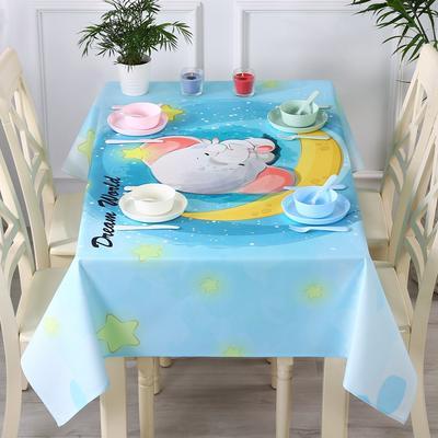 2019新款ins防水桌布(实拍图) 100*140cm 萌萌象