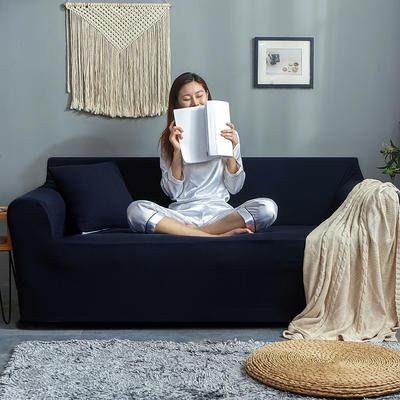 2019新款针织沙发套 90*140cm 藏蓝