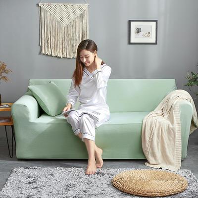 2019新款针织沙发套 90*140cm 达芬奇绿