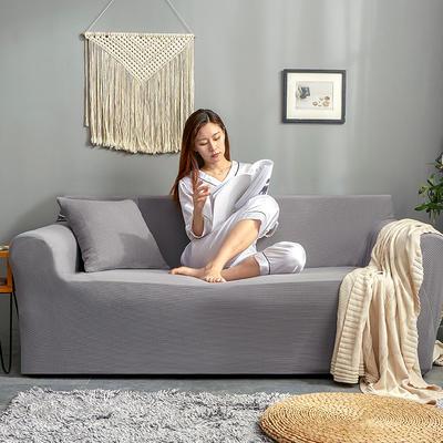 2019新款针织沙发套 90*140cm 卡其灰