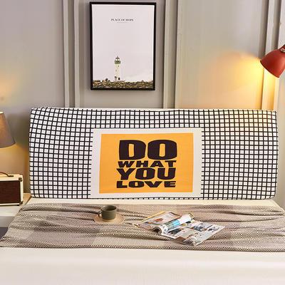 2019新款数码印花床头罩 长度150高度50-65 Do You