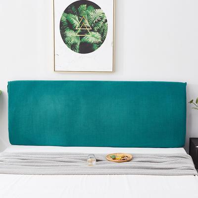 2020新款玉米绒床头罩 150*50-65 翡翠绿