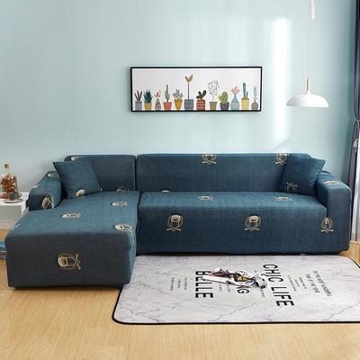 2020新款四季沙发套万能全包款沙发罩贵妃通用 单人(90-140cm) S牌