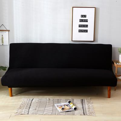 2020新款玉米绒沙发床 120-150(小号) 玉米绒-黑色