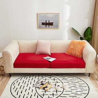 2020新款-四季沙发笠 加大单人 大红