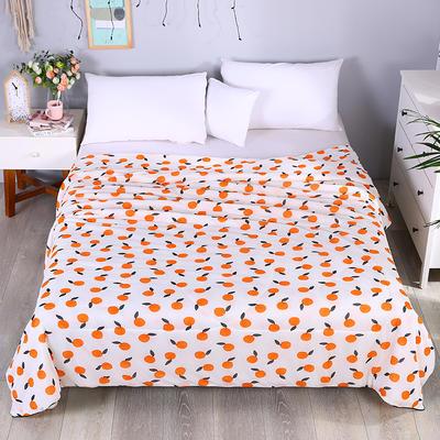 2019新款玻尿酸夏被 150x200cm 橙子