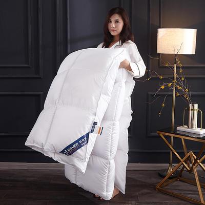2019新款羽丝绒被被子被芯 1.5m 4斤 白色