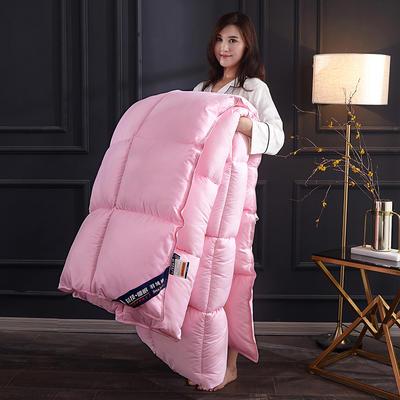 2019新款羽丝绒被被子被芯 1.5m 4斤 粉色