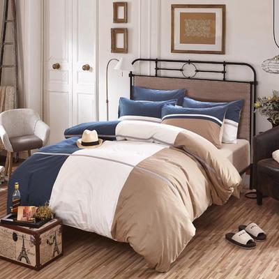 【21】时尚休闲床单式四件套 被套200*230 床单245*265 Y云上之城