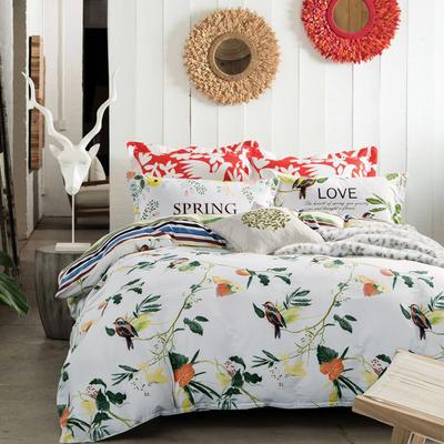 【7】12868全棉标准【定位版】四件套 1.5m(5英尺)床 需要其他花型请拍这里备注留言