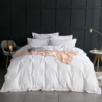 【58】五星酒店床单系列 1.5m(5英尺)床 粉红记忆-酒店
