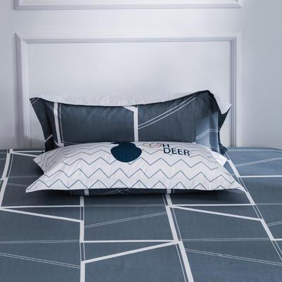 【3】12868普通枕套 枕套一对48*74cm 异域空间