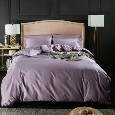 【61】纯色长绒棉 1.5m(5英尺)床 优雅紫