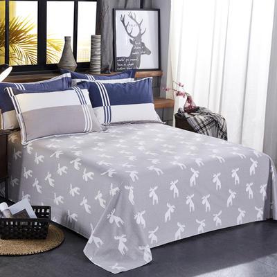 【63】全棉生态磨毛床单 230cmx250cm 风格迥异