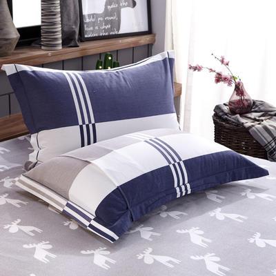 【63】全棉生态磨毛枕套 48cmX74cm 风格迥异