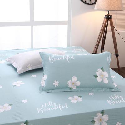 【3】12868普通枕套 枕套一对48*74cm 心之花恋