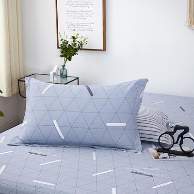 【3】12868普通枕套 枕套一对48*74cm 爱尚几何