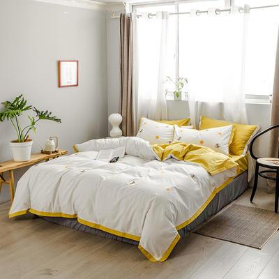 【70】水洗棉工艺系列四件套 1.8m(6英尺)床 觅香