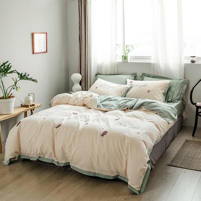 【70】水洗棉工艺系列四件套 1.5m(5英尺)床 元气