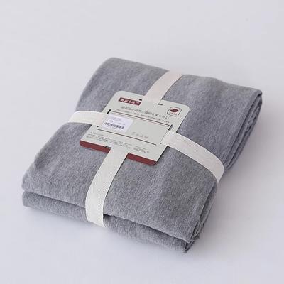 2019新款天竺棉系列-单床笠 120cmx200cm+25cm 灰色
