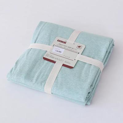 2019新款天竺棉系列-单床笠 120cmx200cm+25cm 绿色