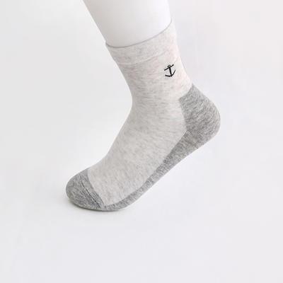 2019新款女袜 高筒AB色+纯色 30双/包 白+浅灰