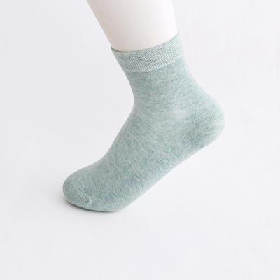 2019新款女袜 高筒AB色+纯色 30双/包 绿